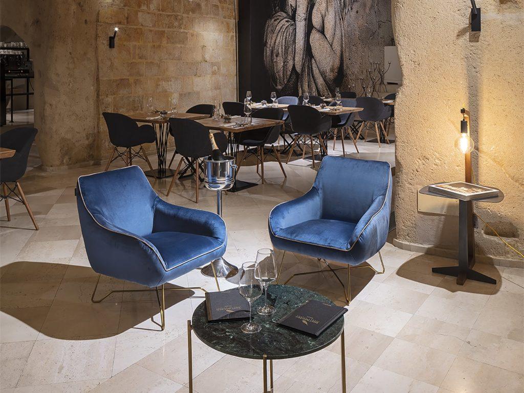 contract Regia Corte, Restaurant & Terrace lounge