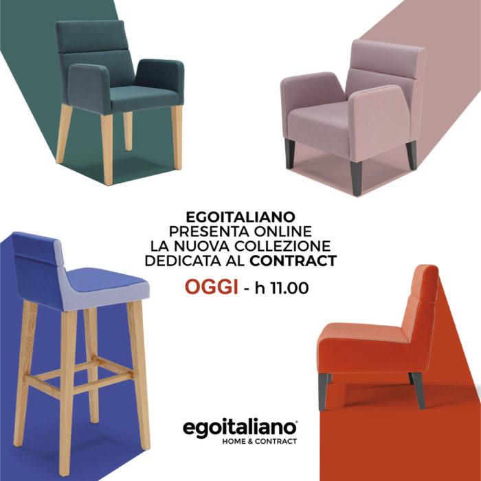egomag egoitaliano Egoitaliano presenta una nuova collezione pensata per il mondo del Contract